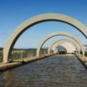 Falkirk Wheel - Aquaduct