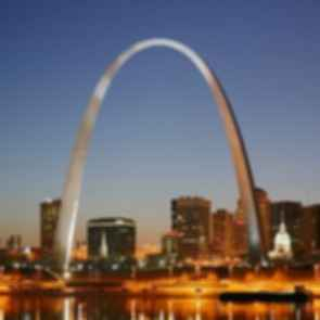 Gateway Arch - Night