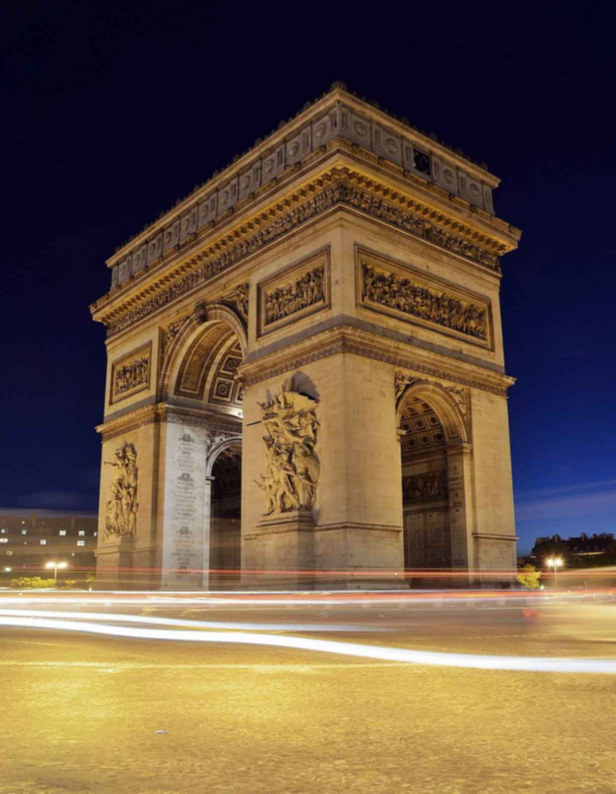 Arc de Triomphe - Night