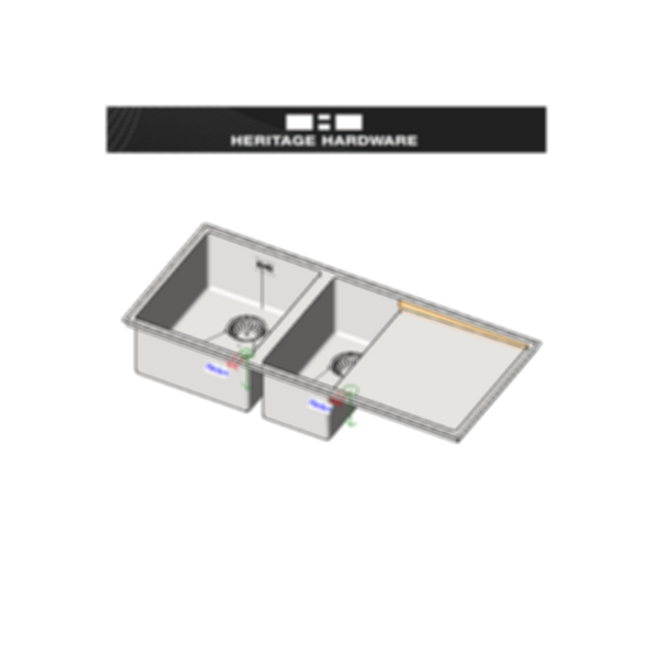 Heritage Hardware Filo Sinks - Revit