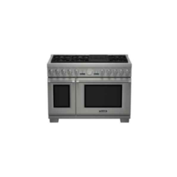 """48""""Pro Grand DF 6 Burner with Electric Grill"""