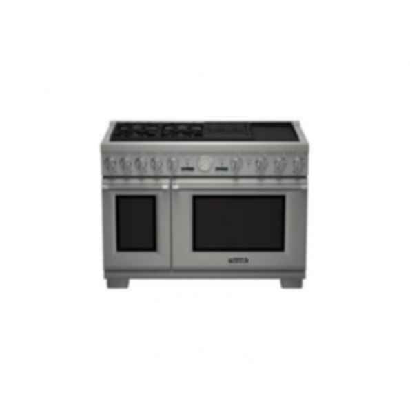 "Thermador 48"" Pro Grand DF 4 Burner w/ Elec. Grill & Griddle PRD484NCGU"