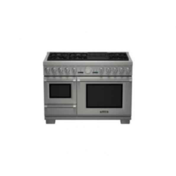 "Thermador 48"" Pro Grand Steam DF 6 Burner w/ Elec. Grill PRD48NLSGU"