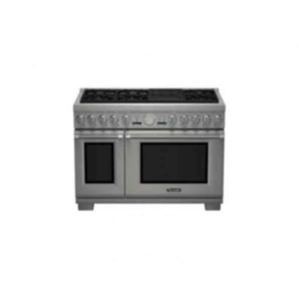 "Thermador 48""Pro Grand DF 6 Burner w/ Elec. Grill PRL486NLG"