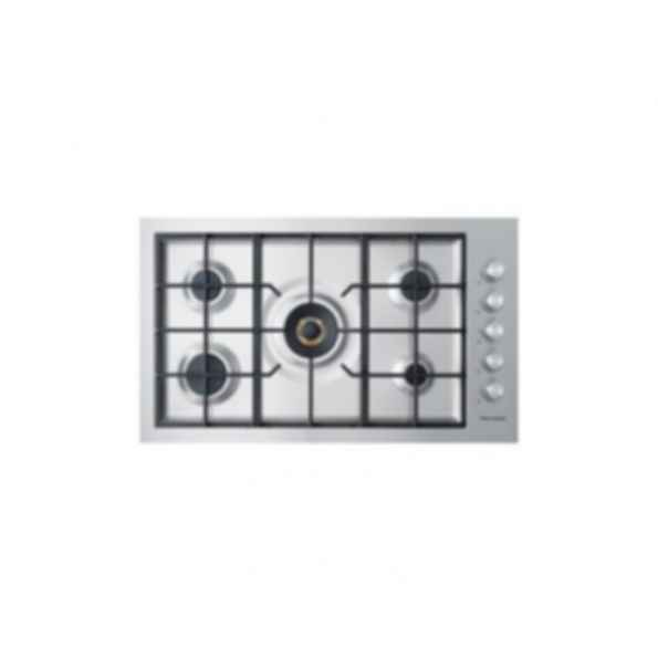 36'' 900mm 5 Burner Gas on Stainless Cooktop CG365DWACX2