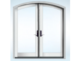 2-Panel French Sector Top Patio Door