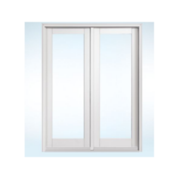 2-Panel Clad In-Swing French Door