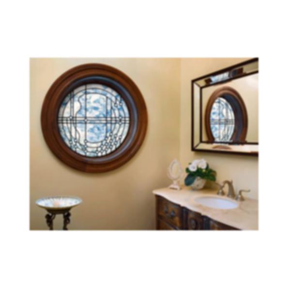 Clad Full Round In-Sash Window