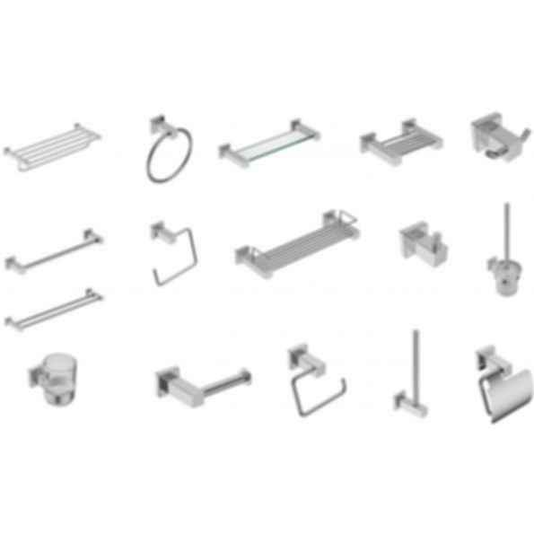 Bathroom Accessories - 8500 Series Square