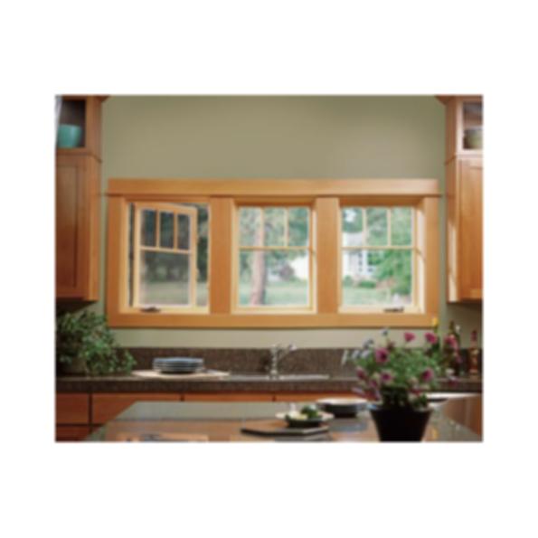 Custom Wood Clad Casement Window