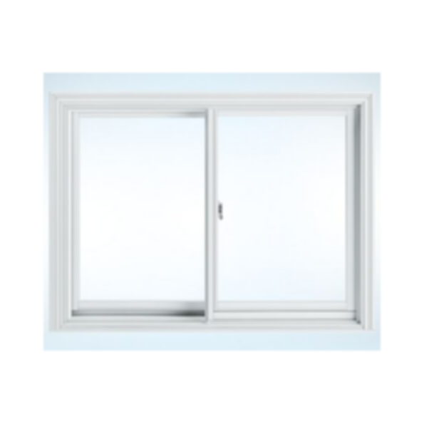 Clad Horizontal Sliding Window