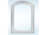 Segment Top Clad Casement Window