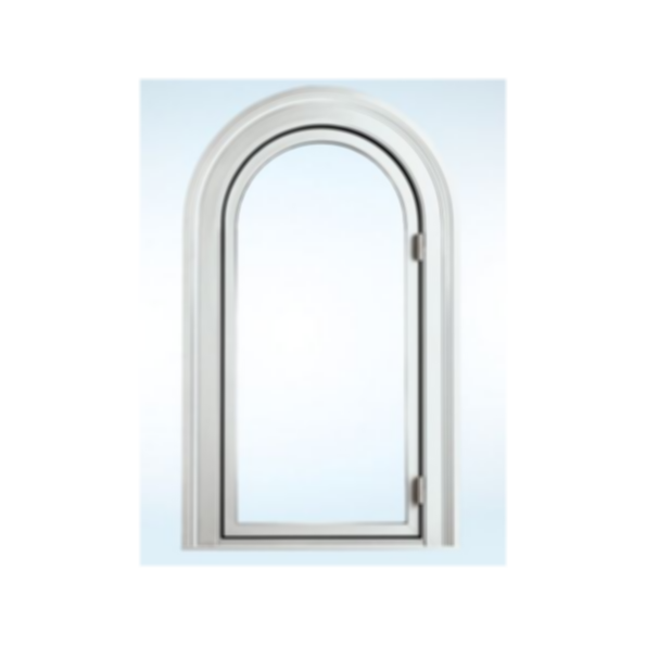 Segment Top Clad Casement Window