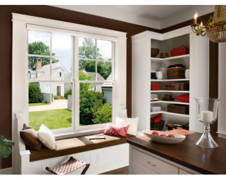Reverse Cottage Clad Double Hung Window