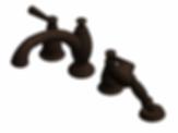 Roman Tub Trim with Hand Shower and new handles - Venetian Bronze