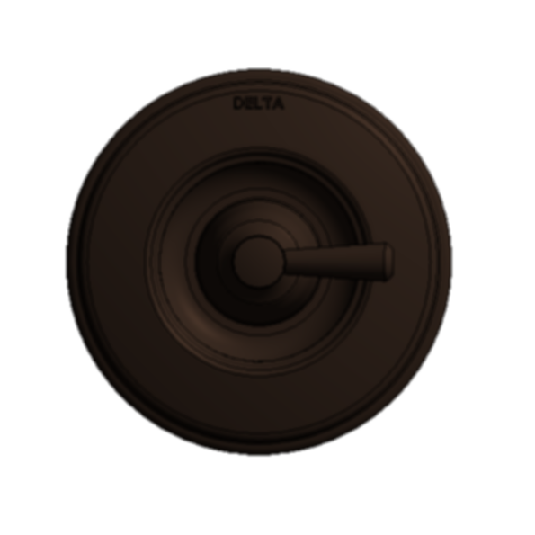Monitor 14 Series Valve Only Trim with new handle - Venetian Bronze