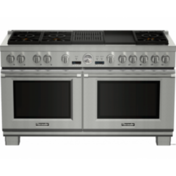 Prd606rcg 60 Inch Dual Fuel Pro Grand Range With Grill And