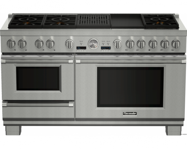 Prd606rcsg 60 Inch Dual Fuel Pro Grand Range With Steam