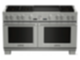 PRD606REG 60 inch Dual fuel pro grand Range with double griddle