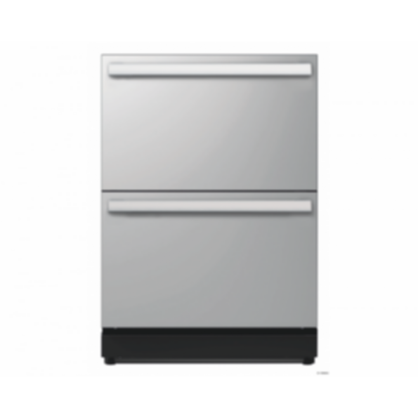 T24UR810DS Under-counter double drawer refrigerator