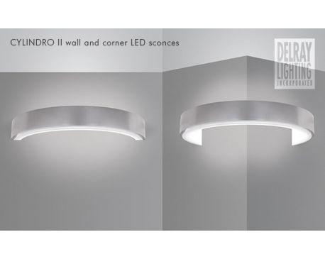Cylindro II 670 LED Sconces