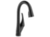 Single Handle Pull-down Bar/Prep Faucet/Matte Black
