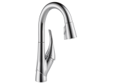 Single Handle Pull-down Bar/Prep Faucet/Chrome