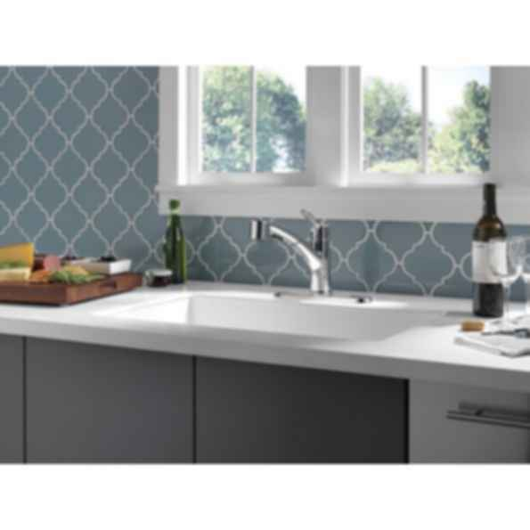 Single Handle Pull-Out Kitchen/Chrome