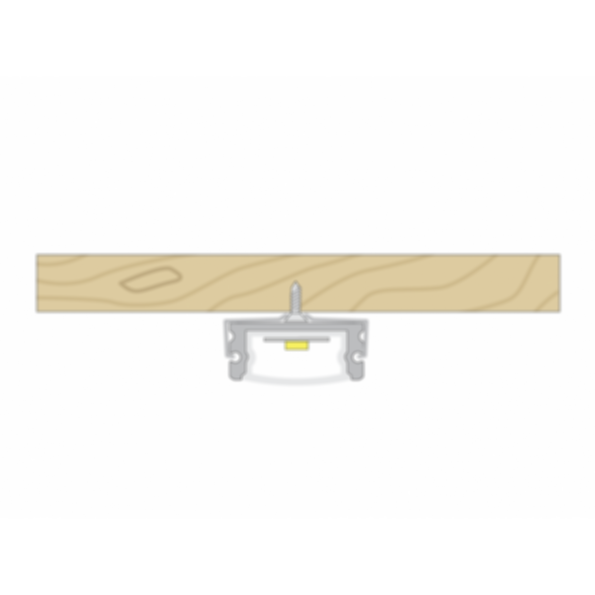 Surfa® 1 LED Light Channel Fixture - Surface Mount