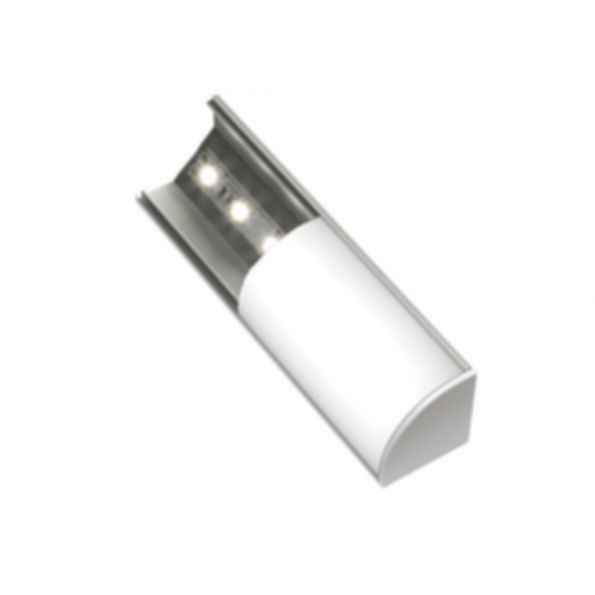 1 X 2 Led Light Fixture: Surfa® 2X LED Light Channel Fixture