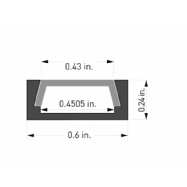 Surfa® 3 LED Light Channel Fixture