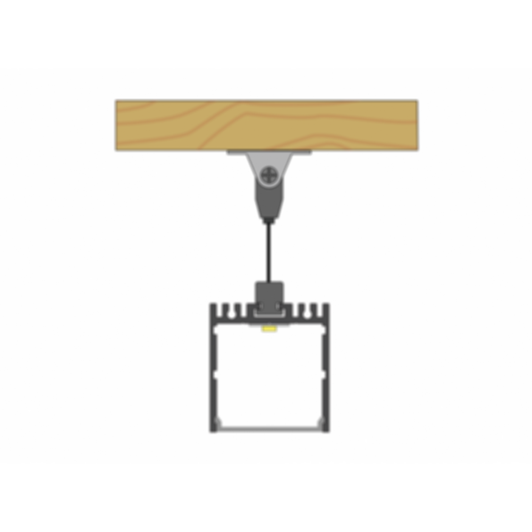 Suspan® 1 Suspended LED Light Channel Fixture