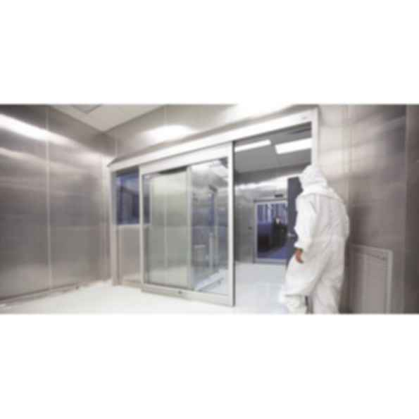 Besam SL500 Clean Room Sliding Door