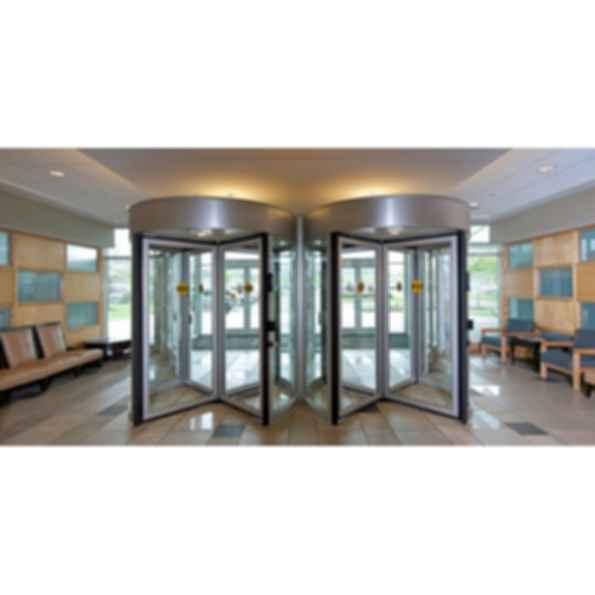 Besam RD4A Access Control Automatic Revolving Door