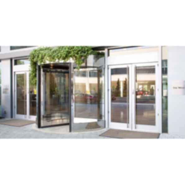 Besam RD Series Compact 3 and 4 Wing Automatic Revolving Door  sc 1 st  Modlar & Besam RD Series Compact 3 and 4 Wing Automatic Revolving Door ...