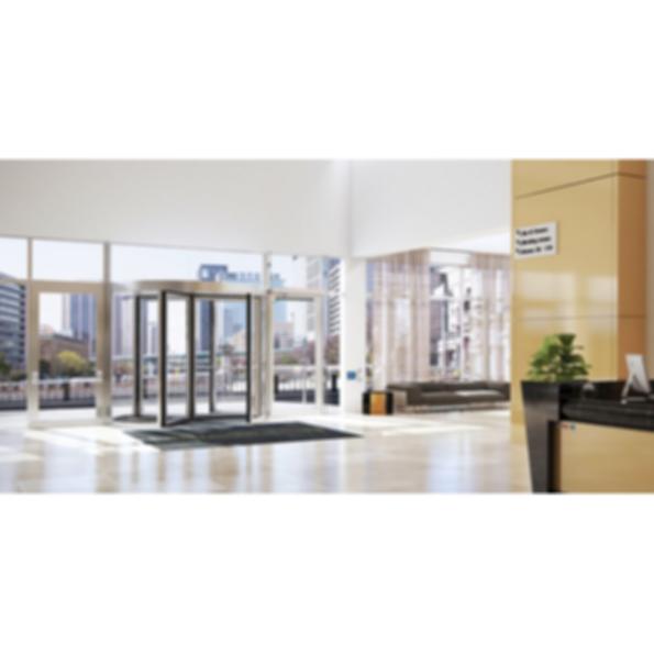 Besam RD100 Manual Revolving Door