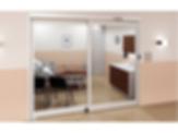 VersaMax 2.0 Touchless Sliding ICU Door