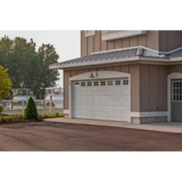 Raised Panel Pan Garage Doors