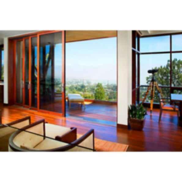 Lift & Slide Sliding Door - wood-framed glass