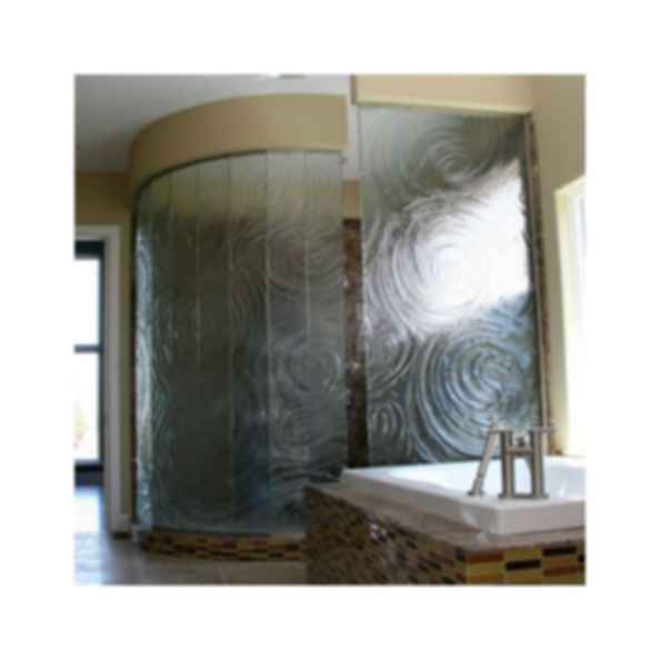 Swing Door Enclosures - Cast Glass