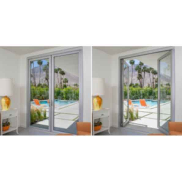Aluminum Thermally Controlled Swing Doors