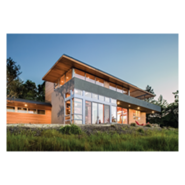 Contemporary Clad-Wood Windows