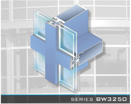 Blast Resistant Curtain Wall; Series BW3250