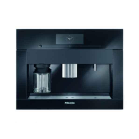 CVA6805 60cm Plumbed Coffee System, PureLine, Obsidian Black