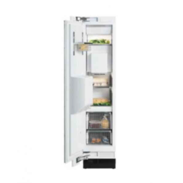 """F1473SF 18"""" All Freezer w/in door Dispenser, Pre-Finished SS, LEFT HINGED"""