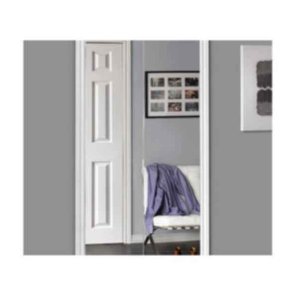 Sliding Bifold Door with Polished Edge Mirror & Slimline Frame