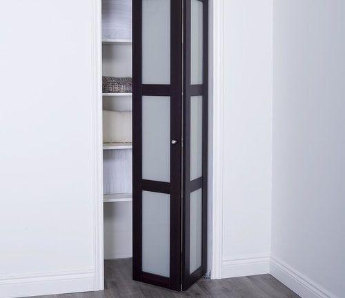 Prefinished Engineered Wood Bifold Sliding Door Model