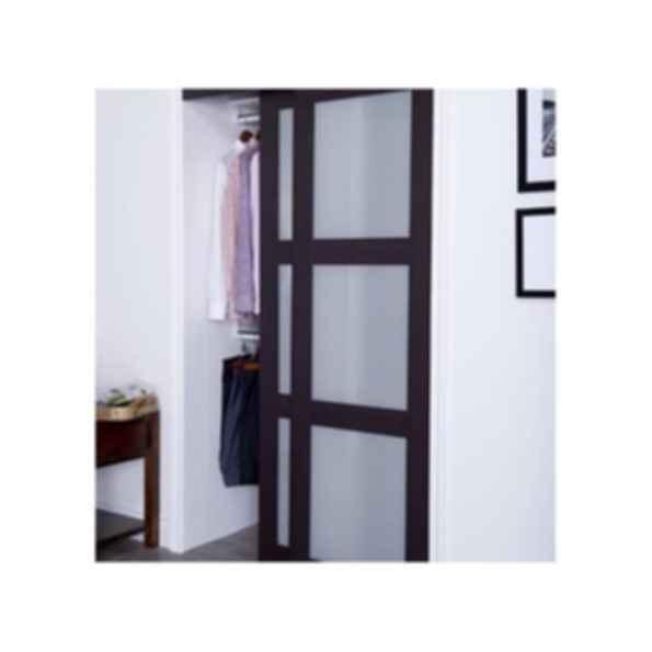 Prefinished Engineered Wood Bypass Sliding Door - Model 2290