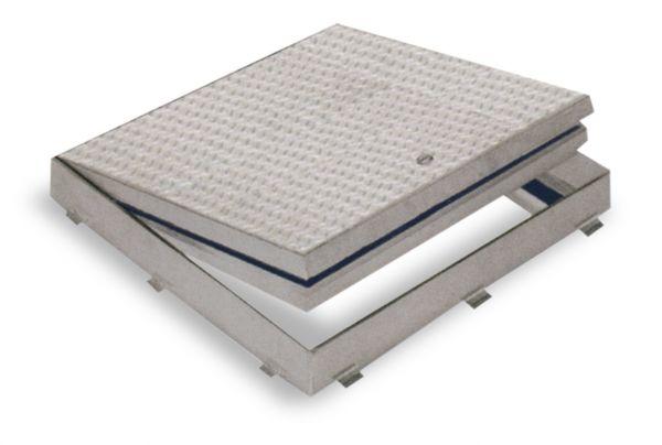 Fire Rated Floor Doors Flush Diamond Plate Modlar Com