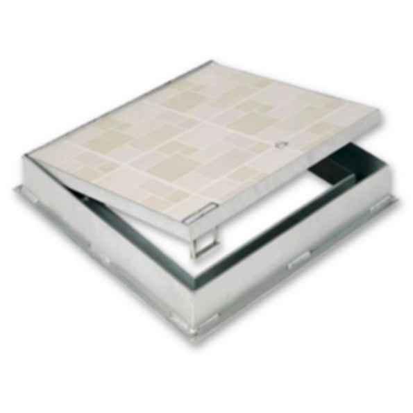 Recessed 1 Quot For Ceramic Tile Concrete Floor Doors Modlar Com